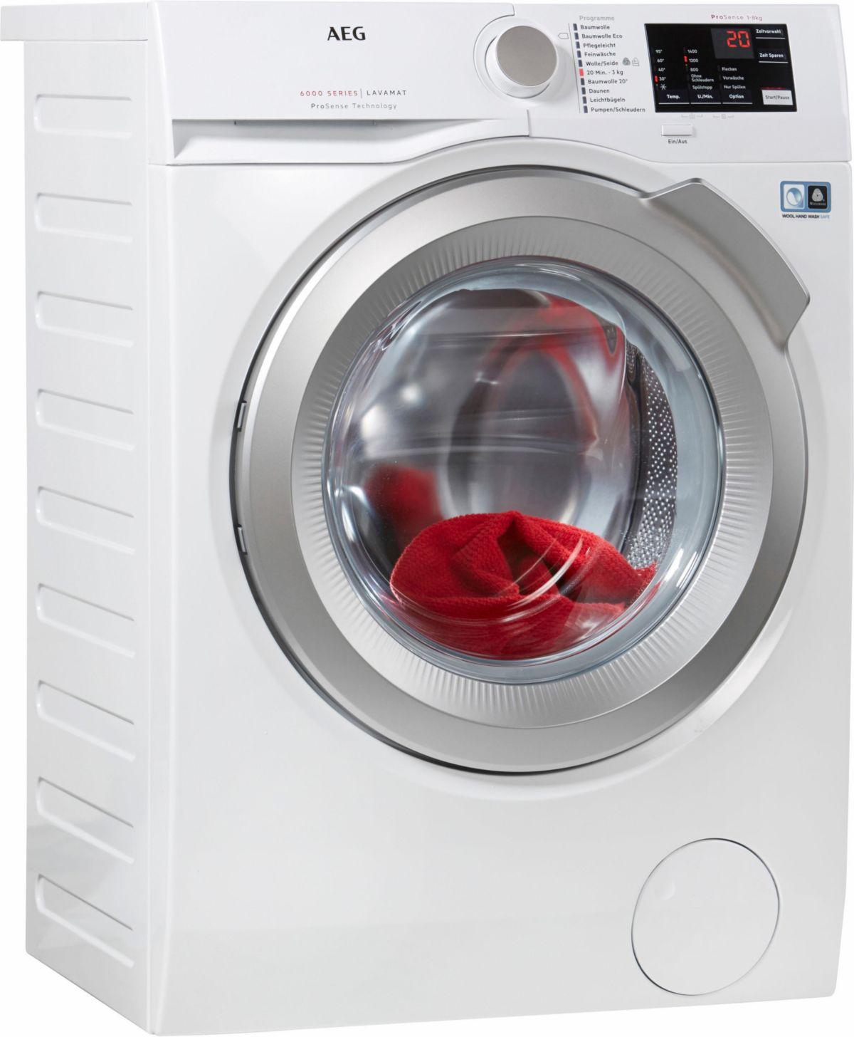 AEG Waschmaschine LAVAMAT L6FB55480, A+++, 8 kg...