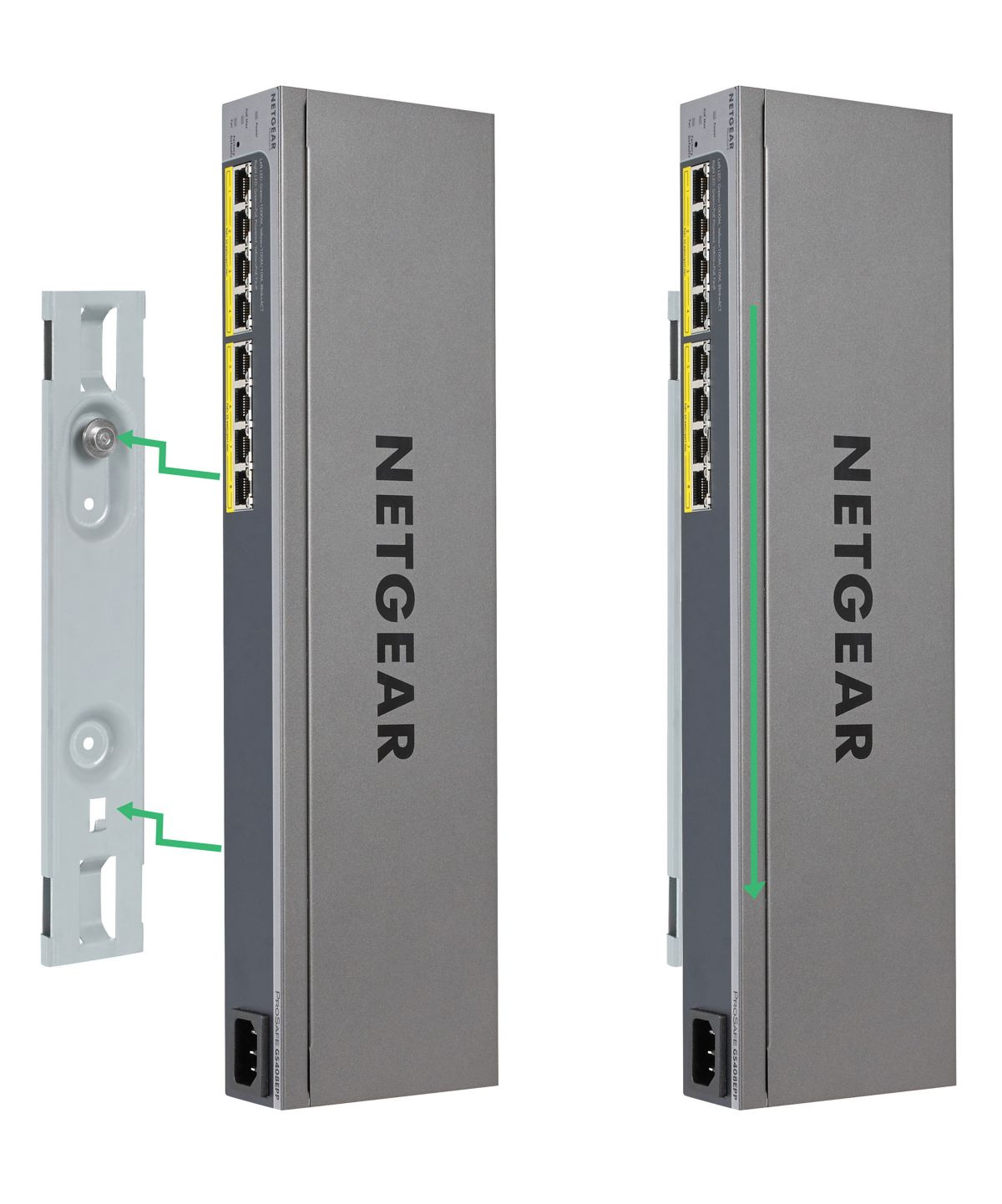 Netgear Switch Hardware »GS408EPP 8-Port GB Eas...