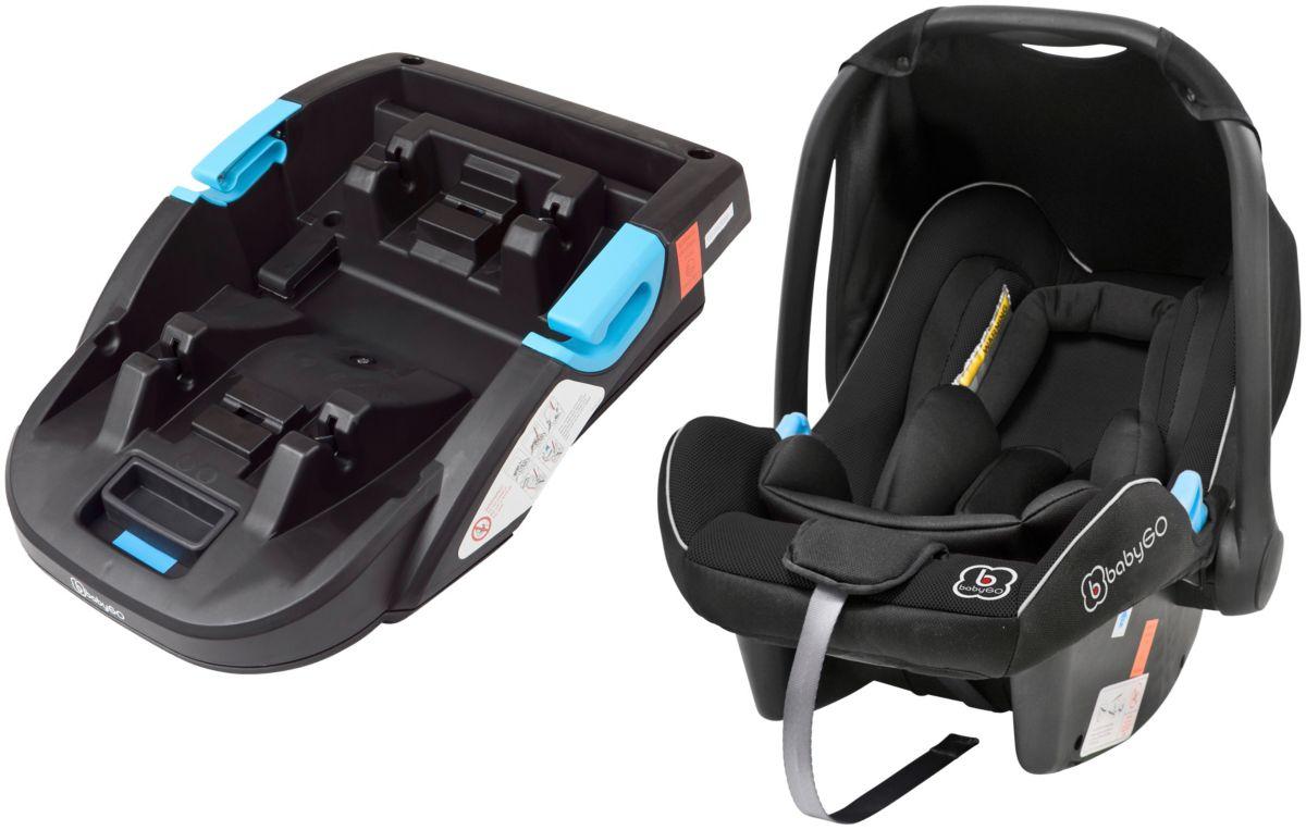 BABYGO Kindersitz »Travel XP + Base«, 0 - 13 kg, Reboard