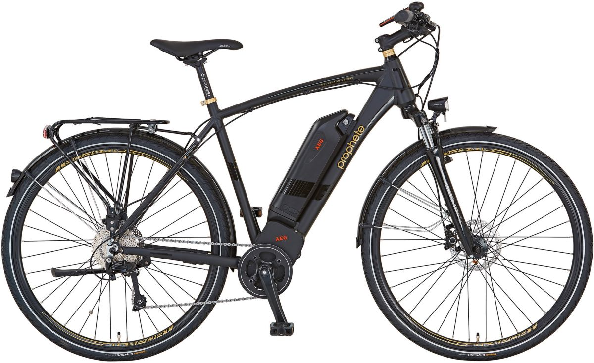 Prophete Herren E-Bike Alu-Trekking, 28 Zoll, 1...