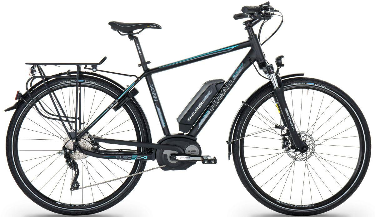 Head Herren Trekking E-Bike, 28 Zoll, 10 Gang S...