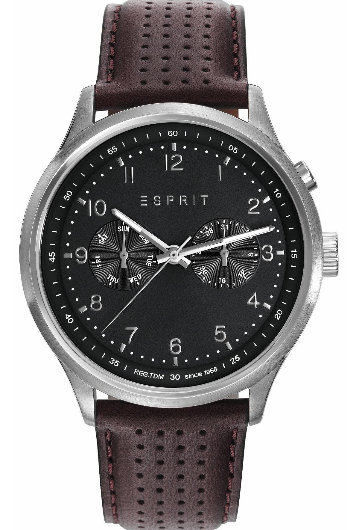 Esprit Multifunktionsuhr »ESPRIT-TP10945 BLACK, ES109451002« von Schwab Versand in black - Schwarz für 129,90€