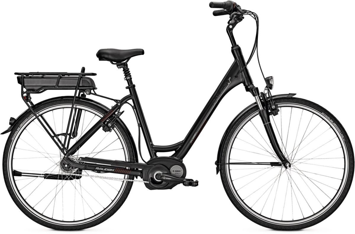 Raleigh Damen E-Bike City, 26/28 Zoll, 7 Gang S...