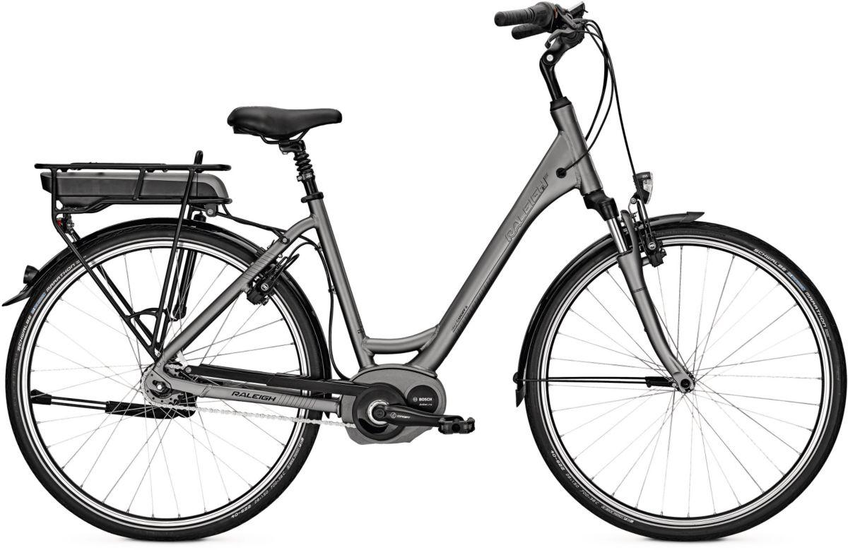 Raleigh Damen E-Bike City, 26/28 Zoll, 8 Gang S...