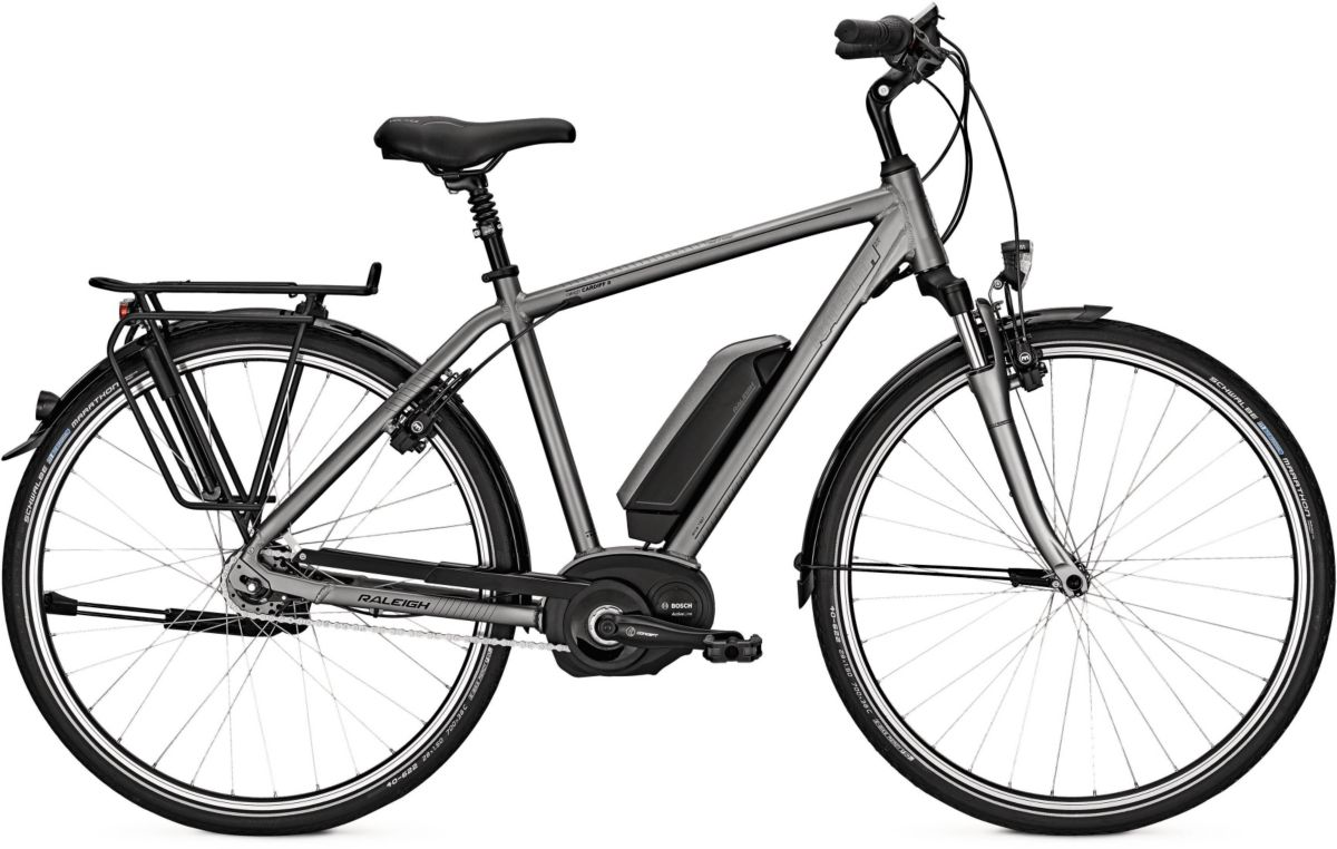 Raleigh Herren E-Bike City, 28 Zoll, 8 Gang Shi...