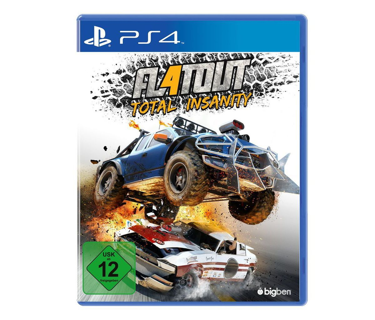 BigBen Playstation 4 - Spiel »Flatout - Total I...