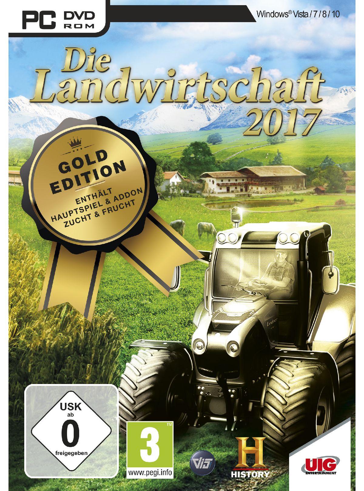 UIG Die Landwirtschaft 2017 Gold Edition »PC«