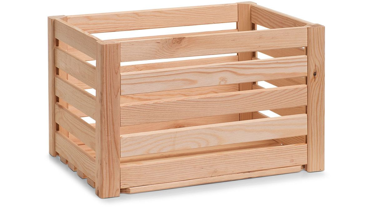 Zeller Present Aufbewahrungs-Kiste »Leisten«, K...