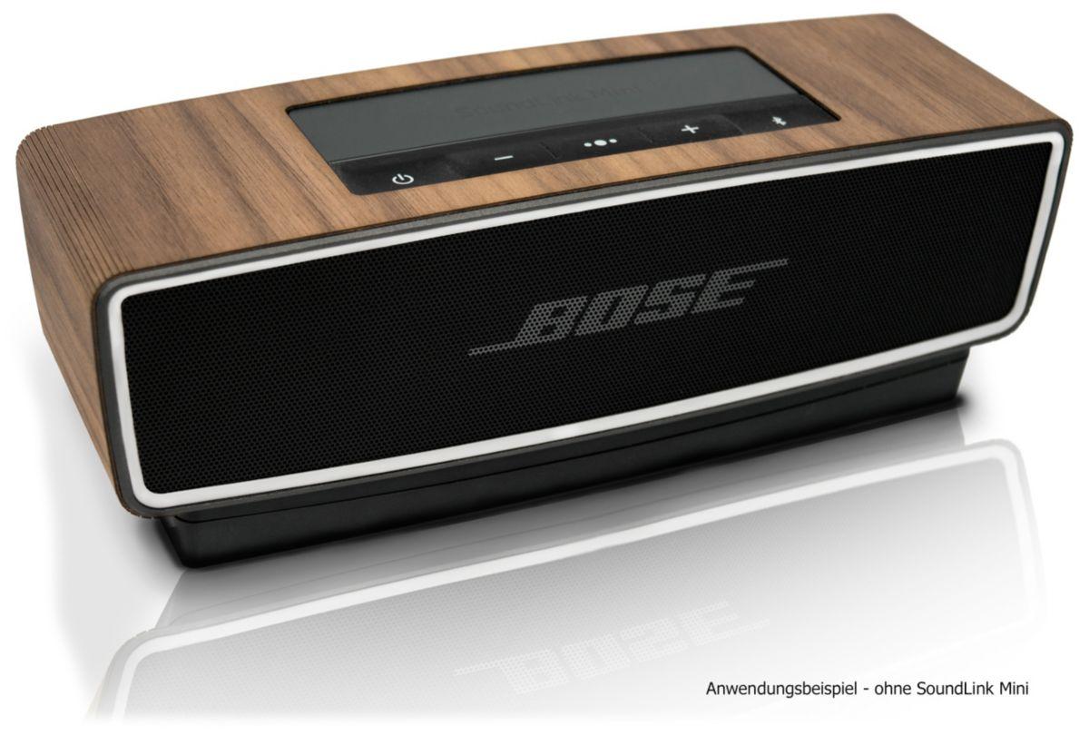 balolo Cover für Bose SoundLink Mini 1 & 2 »Walnuss Echtholz-Cover«