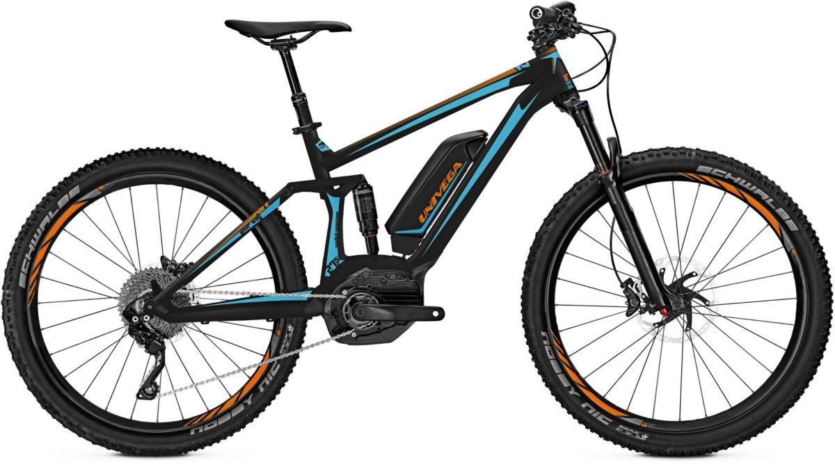 Univega Herren MTB E-Bike, 27,5 Zoll, 10 Gang S...