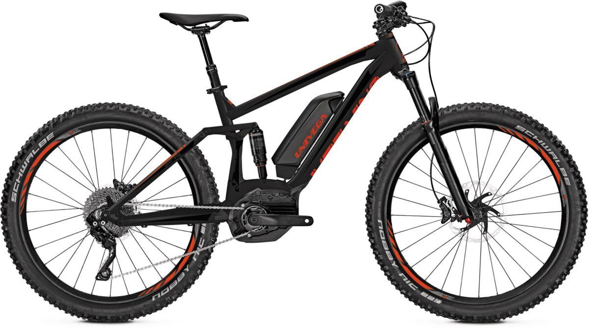 Univega Herren MTB E-Bike, 27,5 Zoll, 11 Gang S...