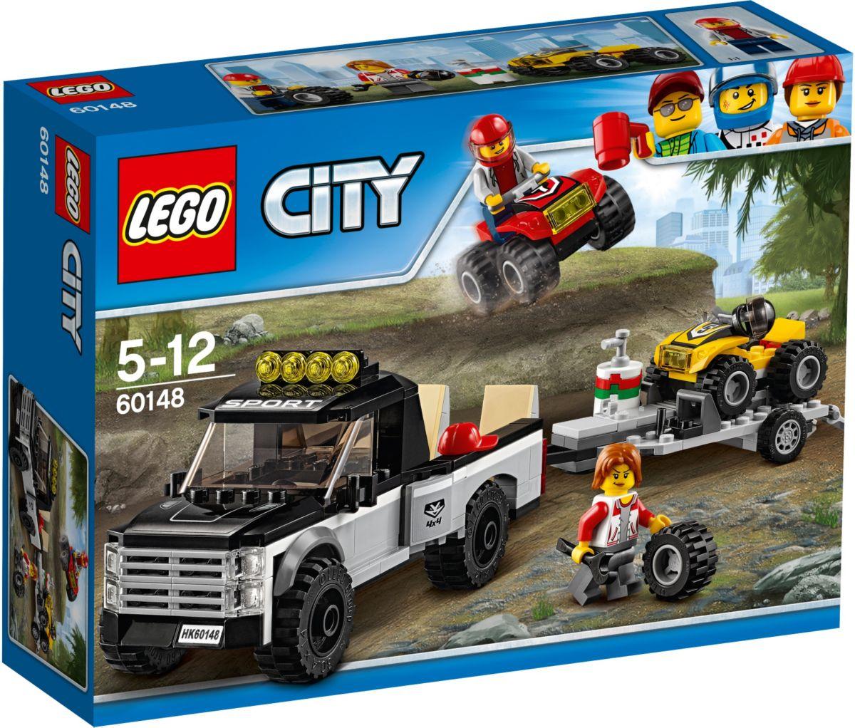 LEGO® Quad-Rennteam (60148), »LEGO® City Starke...