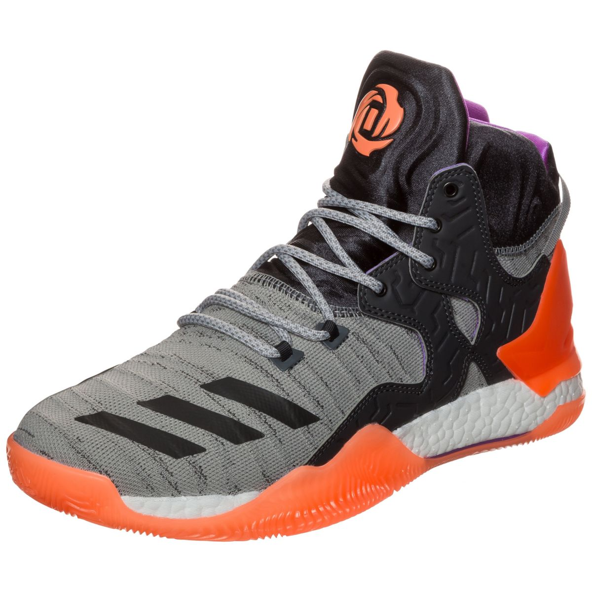 Adidas D Primeknit Performance 7 Basketballschuh Herren Rose fb76gYy