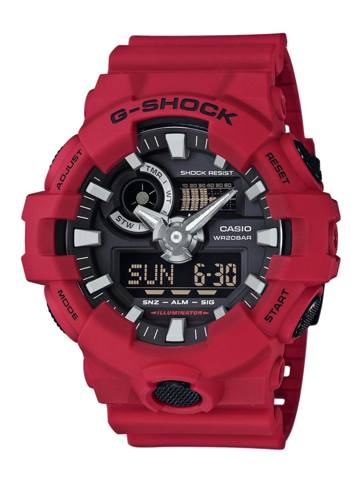 Casio G-Shock Chronograph  GA-700-4AER  Preisvergleich