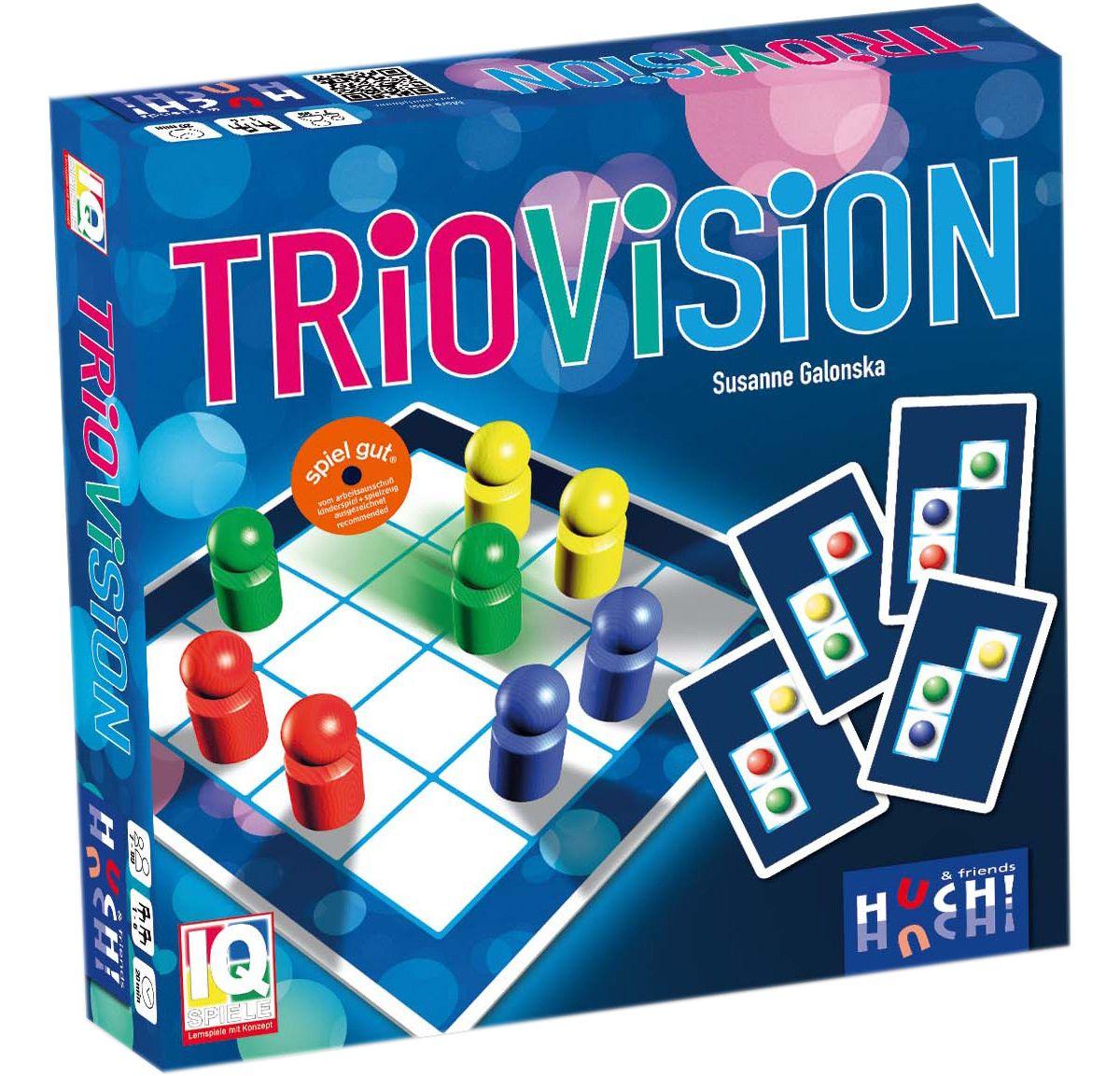 Huch! & friends Brettspiel, »Triovision«