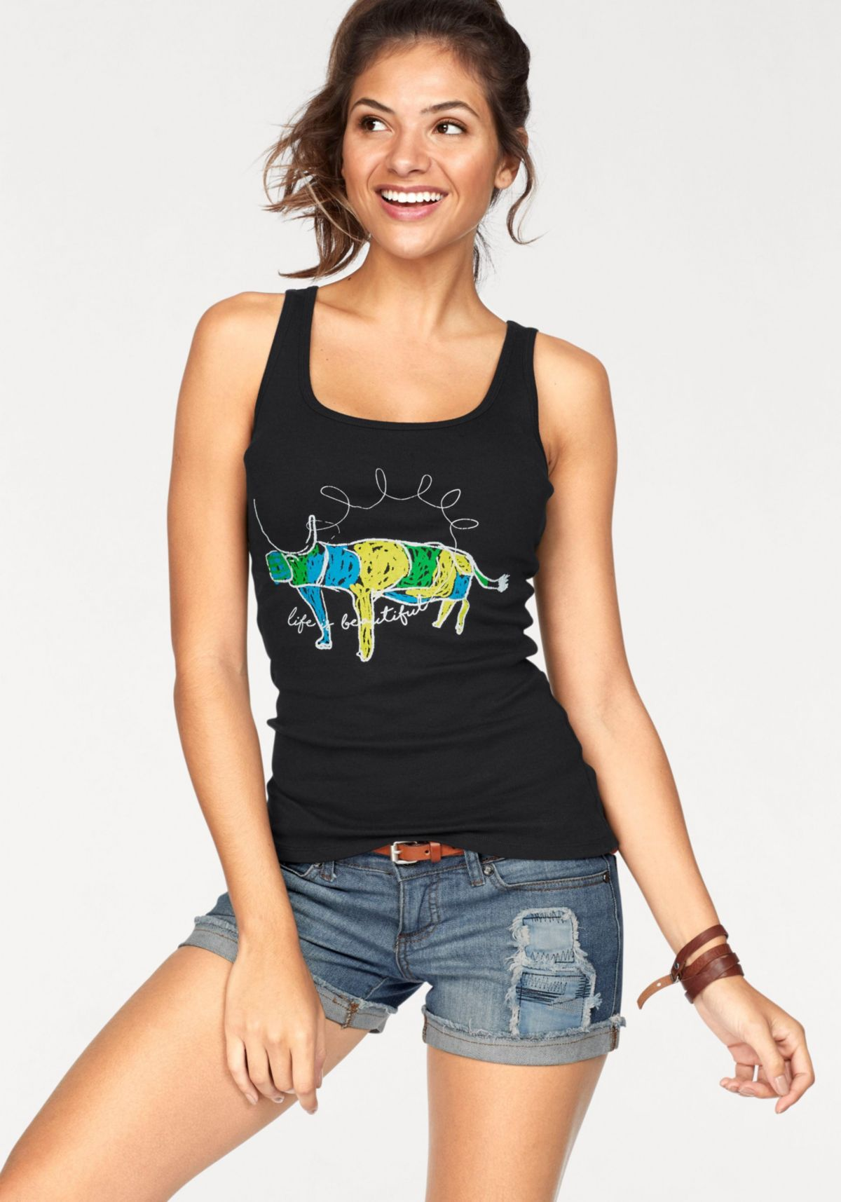 from field to fashion Tanktop