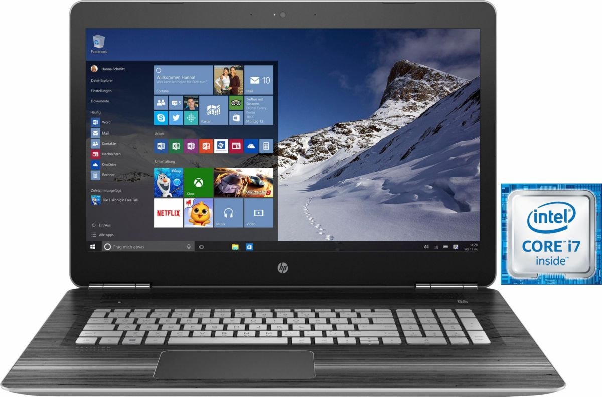 HP Pavilion 17-ab209ng Notebook, Intel® Core™ i...