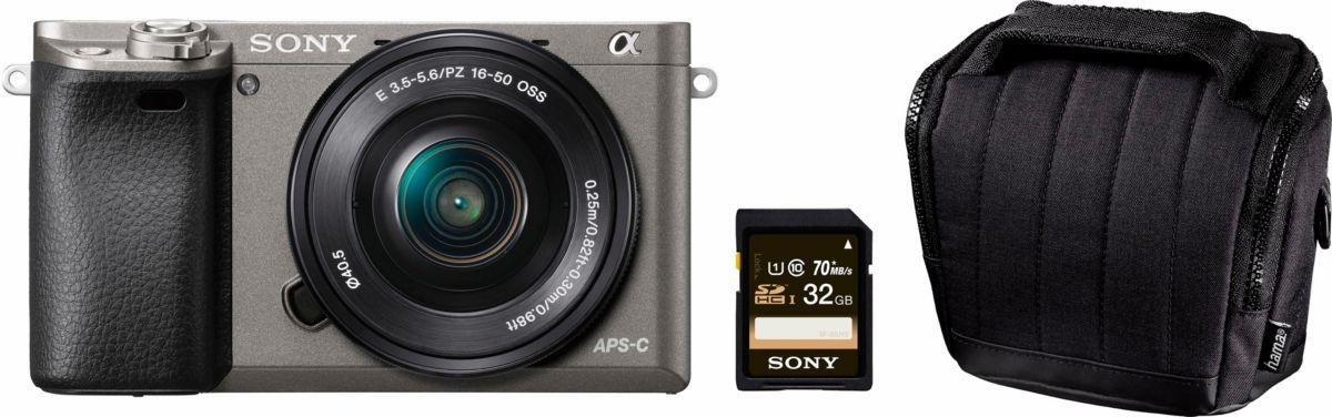 2c7545ce8e948 Sony Alpha ILCE-6000L System Kamera