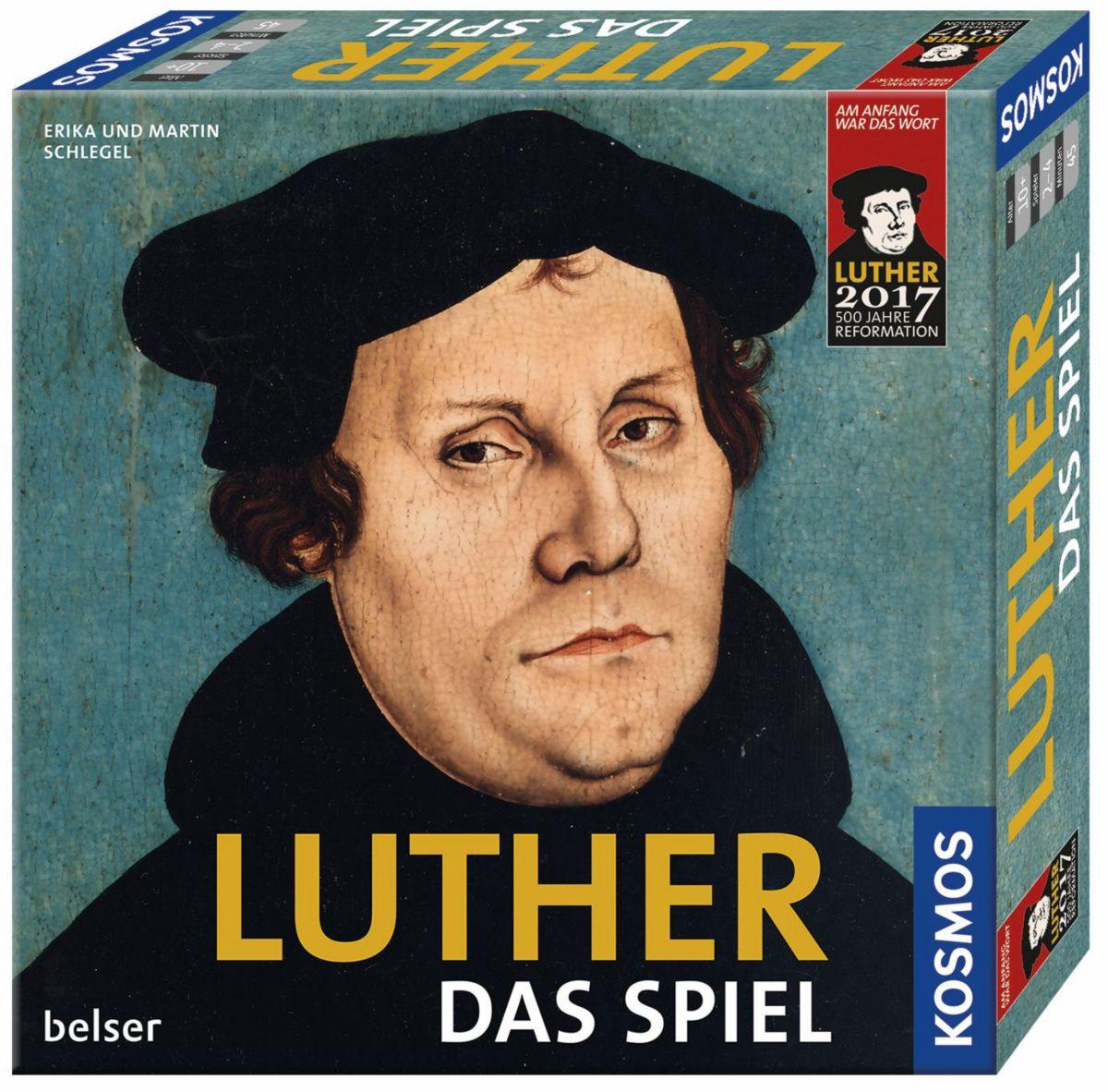 Kosmos Brettspiel, »Luther Das Spiel«