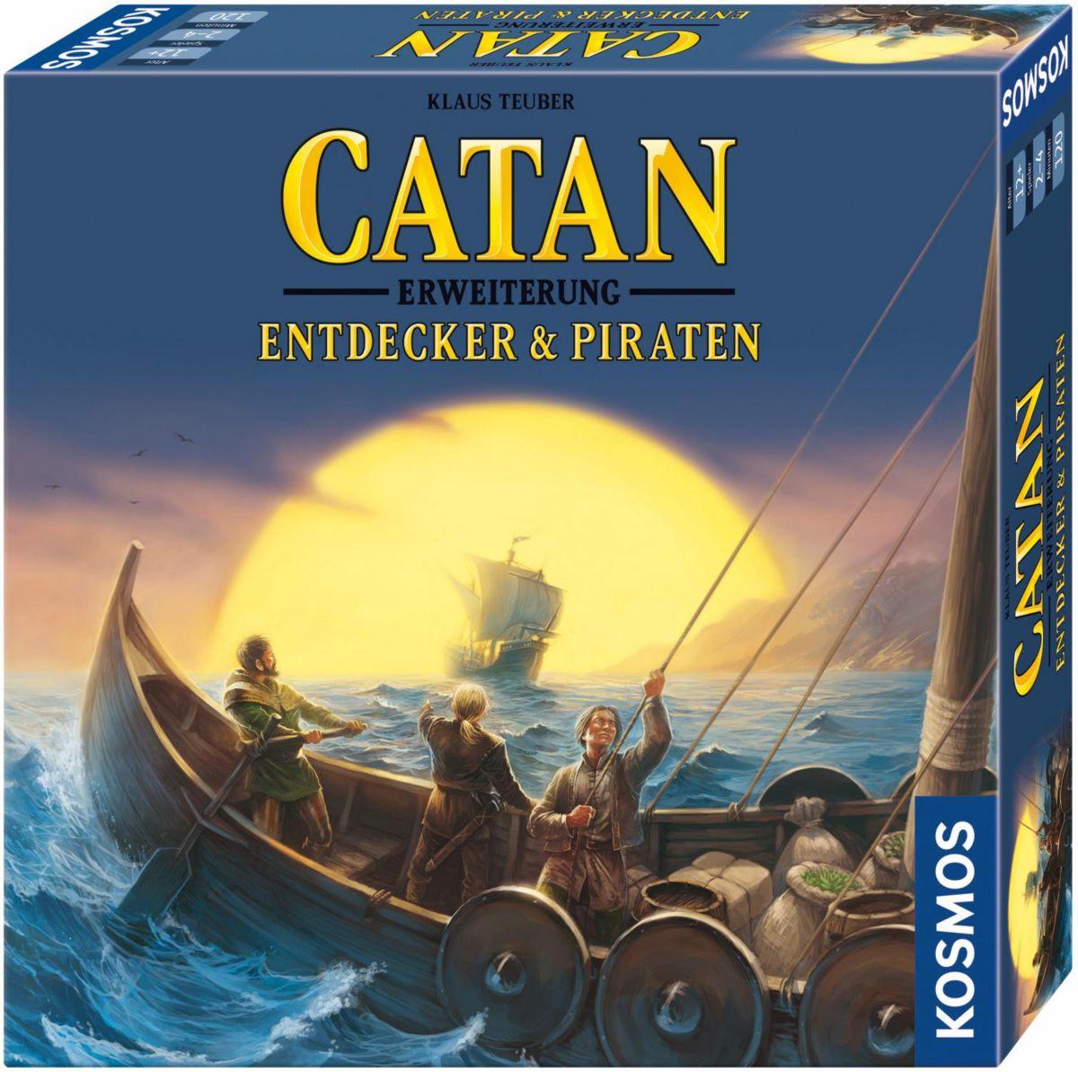 Kosmos Brettspiel Zusatz,  Catan Erweiterung, Entdecker & Piraten  Preisvergleich