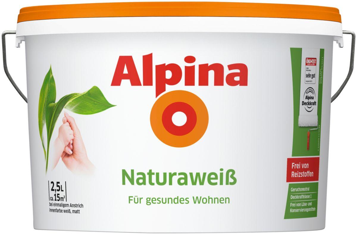 ALPINA Innenfarbe »Alpina Naturawei߫