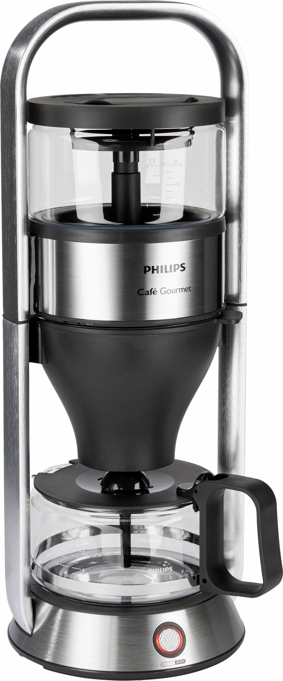 Philips Filterkaffeemaschine HD5413/00 Café Gourmet, 1l Kaffeekanne, Filter 1x4