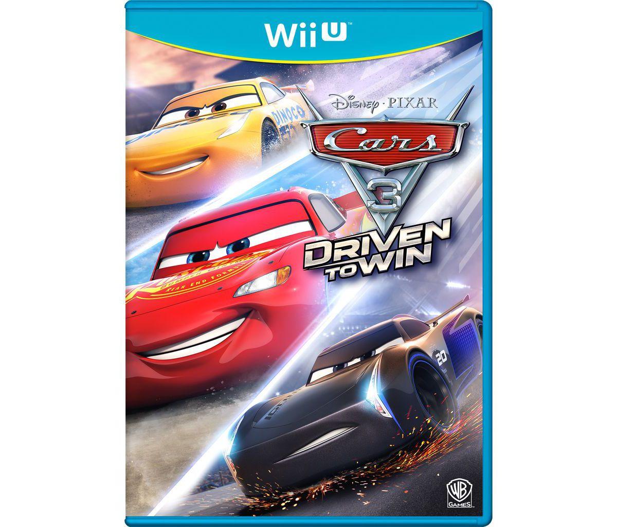 Warner Games Wii U - Spiel »Cars 3 - Driven to ...