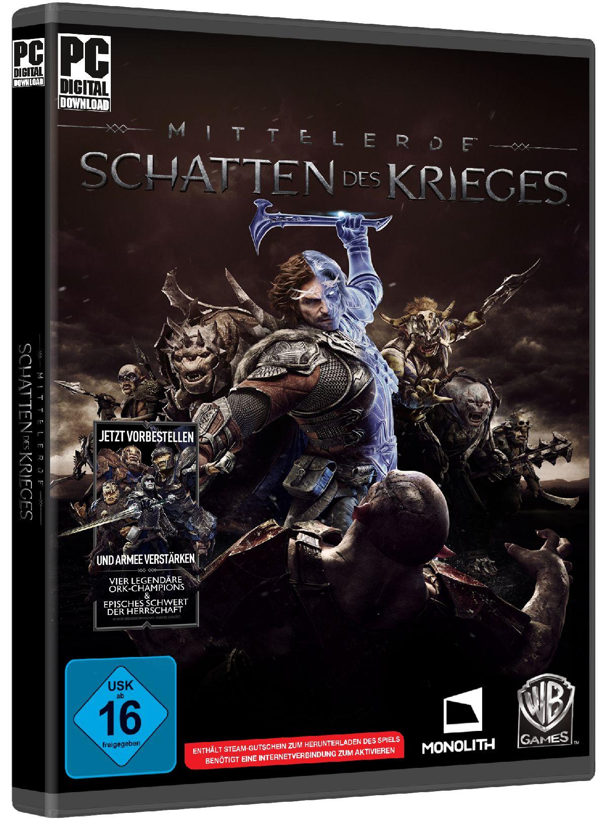 Warner Games Mittelerde: Schatten des Krieges (...