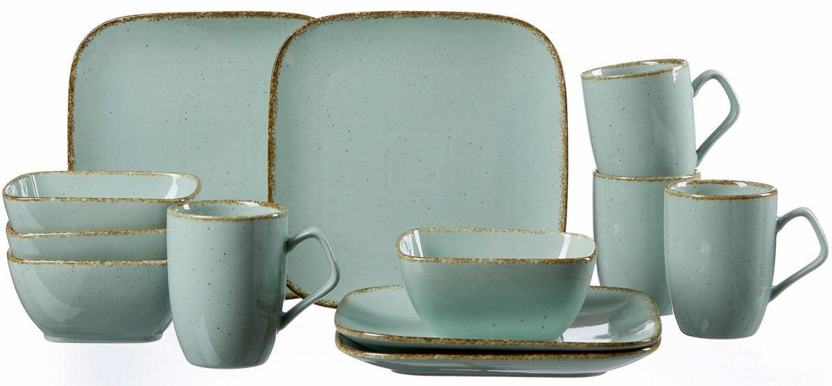 Breker Frühstück-Set, Keramik, 12 Teile,  CASA  Preisvergleich