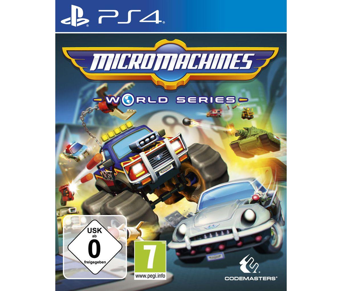Koch Media Playstation 4 - Spiel »Micro Machine...