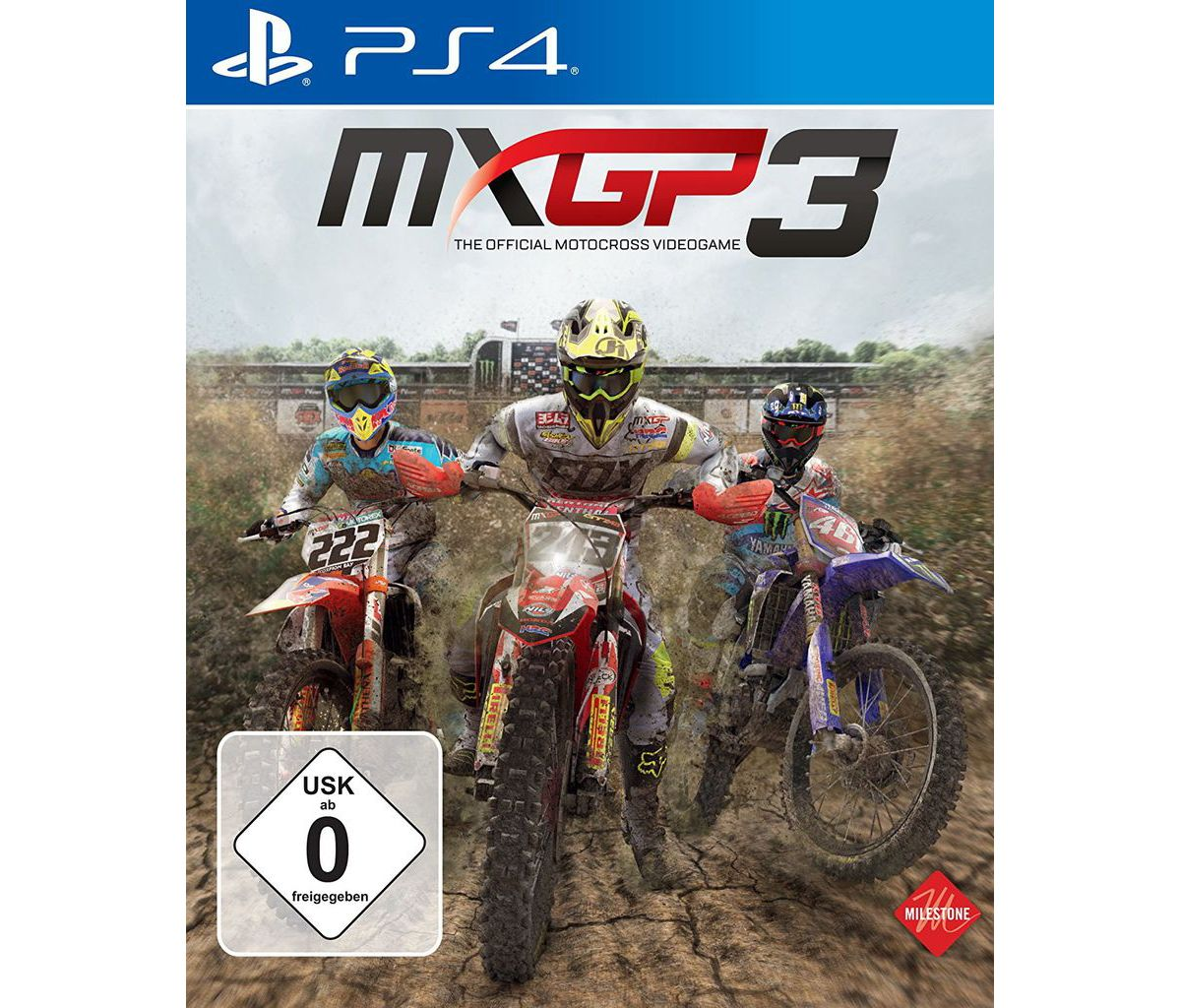 Milestone Playstation 4 - Spiel »MXGP3 - The Of...