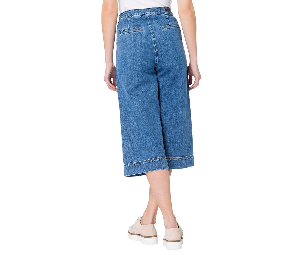 CROSS Jeans ® Coulette Jeans mit extra weitem Beinverlauf »Leann« von Schwab Versand in black - Schwarz für 49,95€