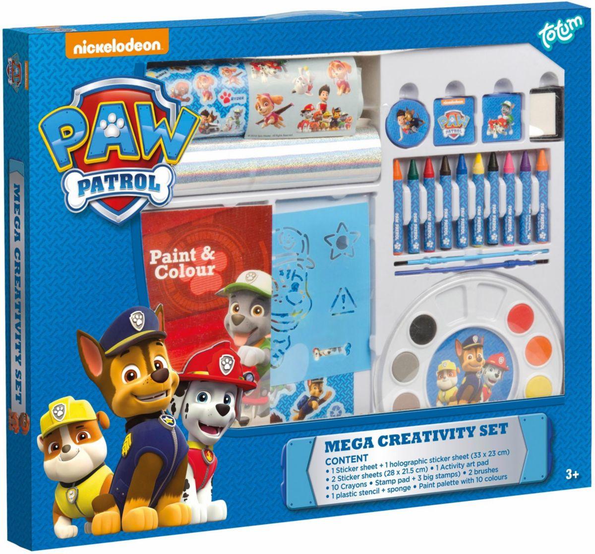 totum Bastelset, »Paw Patrol, Mega Creativity Set«
