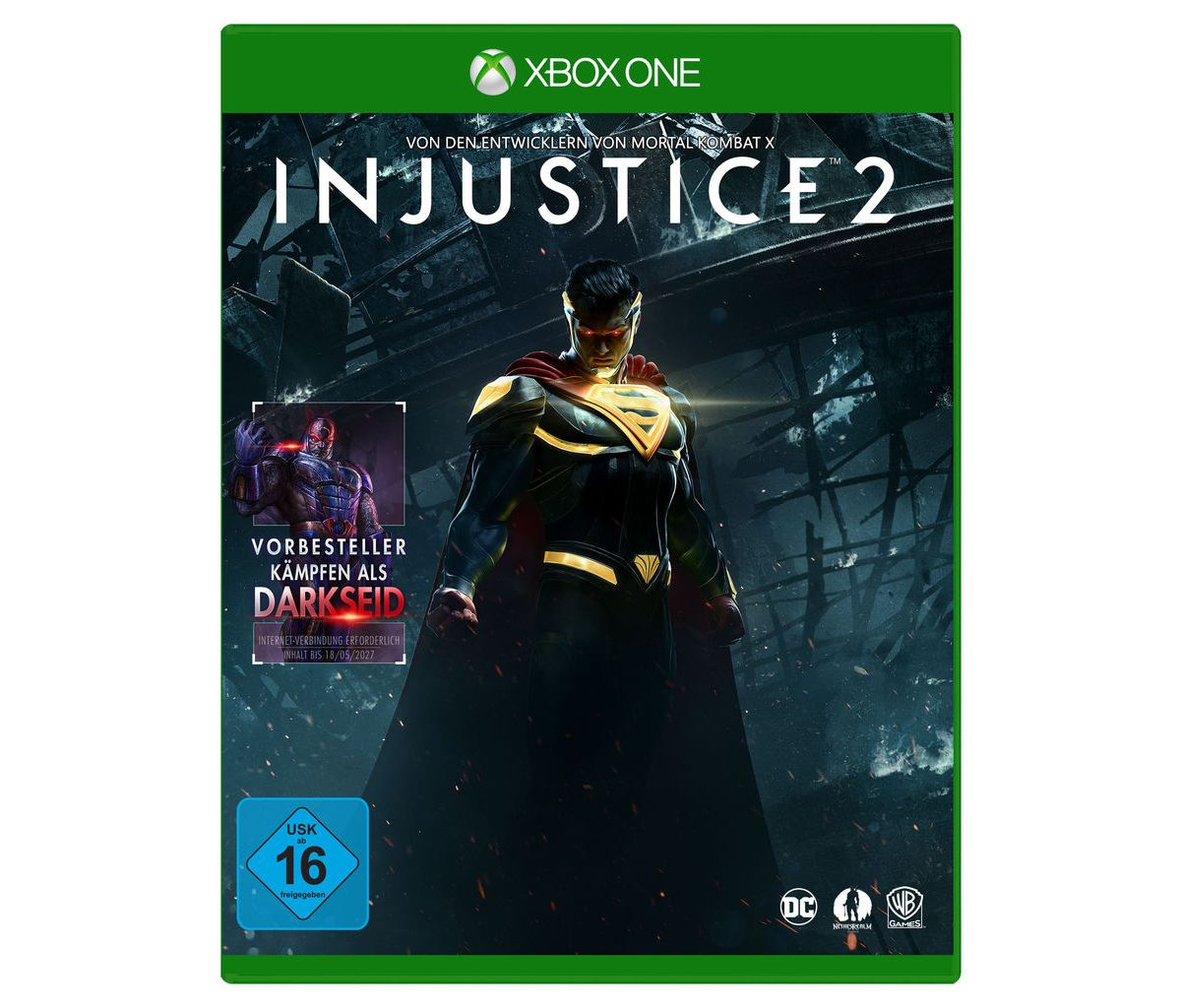 Warner Games XBOX One - Spiel »Injustice 2«