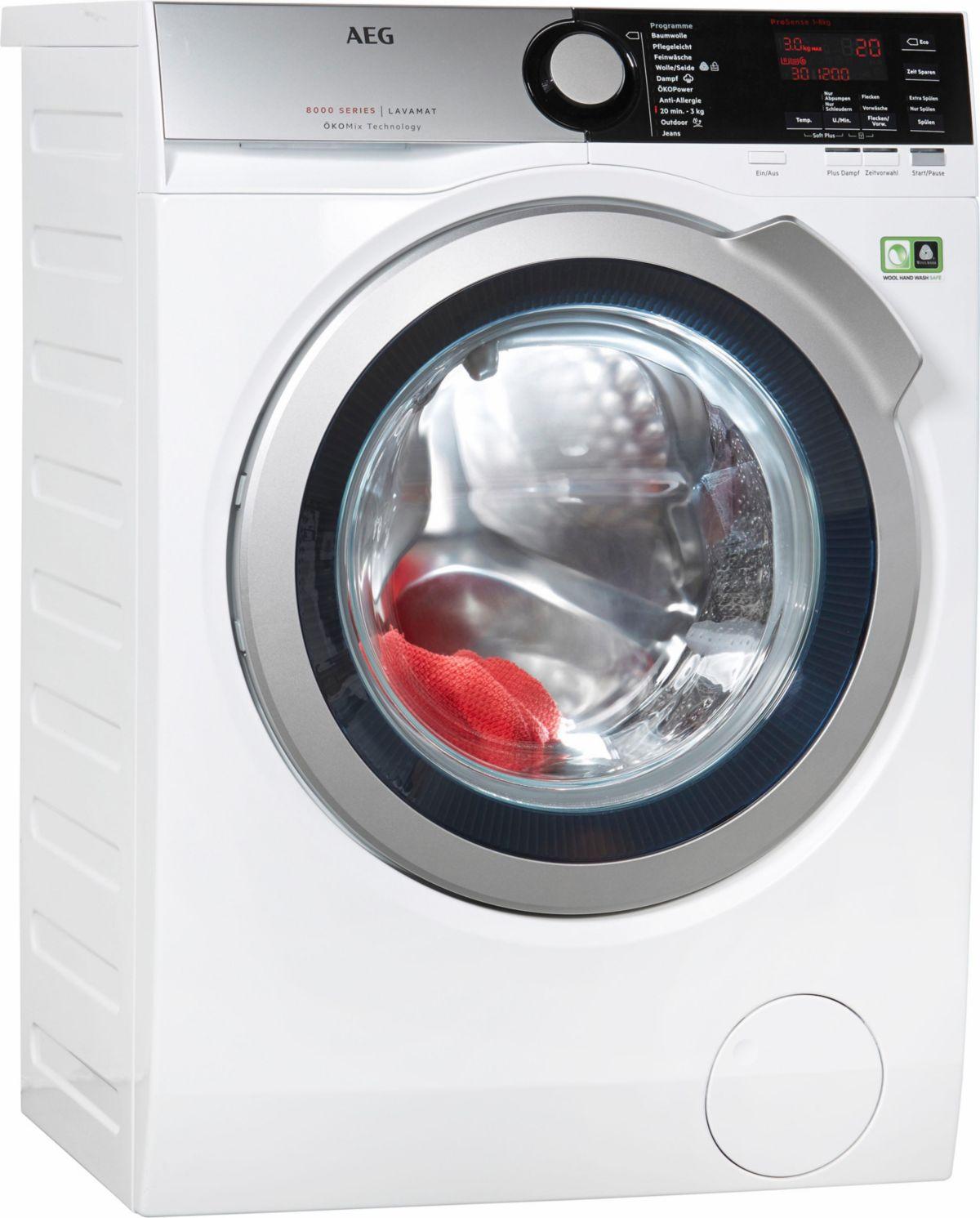 AEG Waschmaschine L7FE48ProS, A+++, 8 kg, 1400 ...