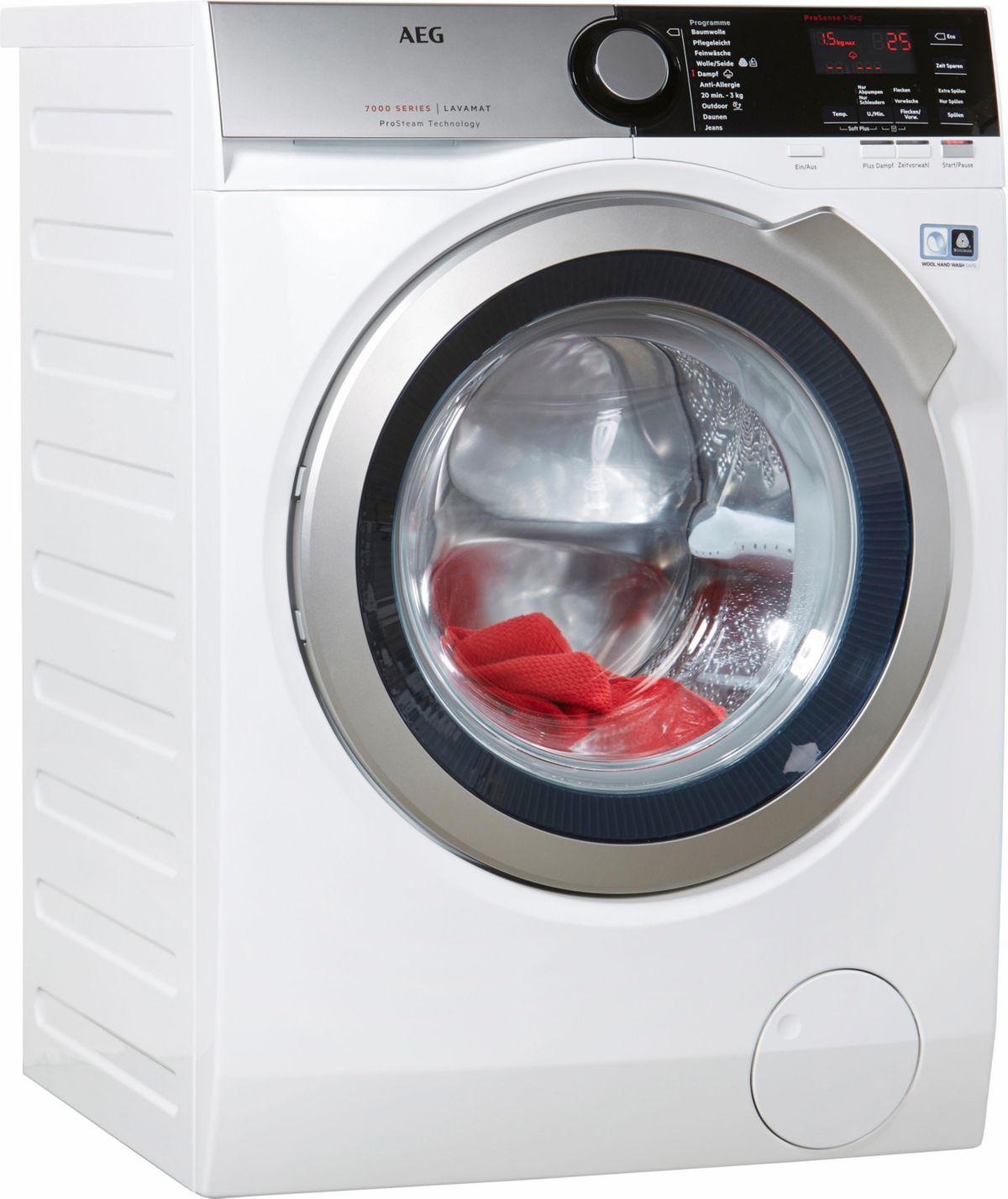 AEG Waschmaschine L7FE68ProS, A+++, 8 kg, 1600 ...