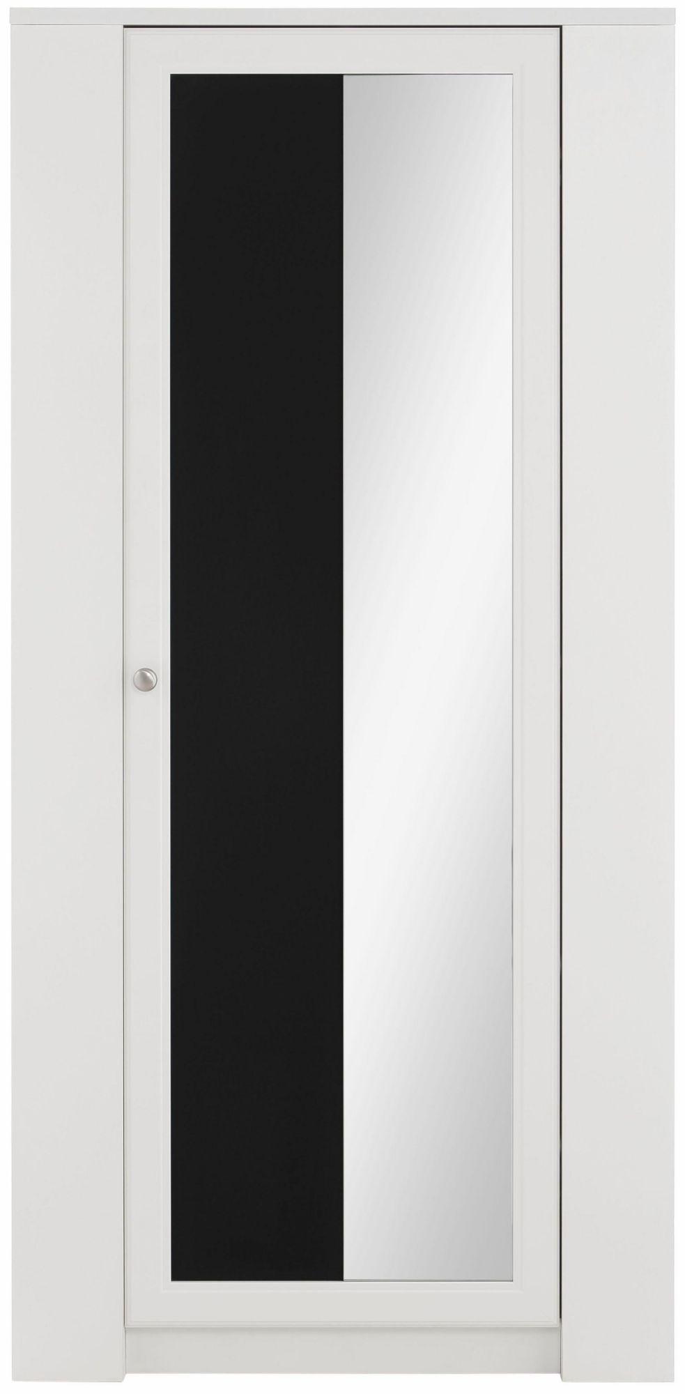 Gut Home Affaire Garderobenschrank »Amberg«, Mit Tafel Und Seitlichen  Kleiderhaken, Wahlweise 1  Oder 2