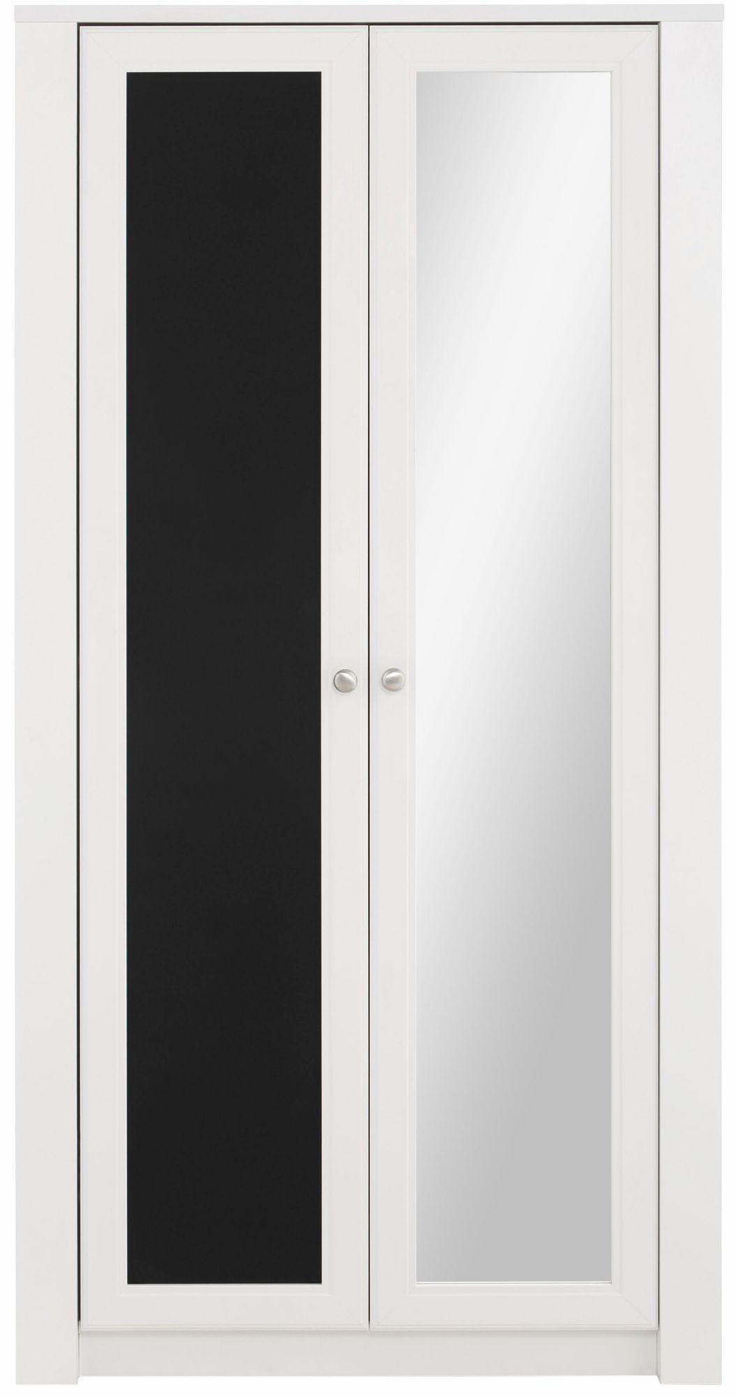 Charmant Home Affaire Garderobenschrank »Amberg«, Mit Tafel Und Seitlichen  Kleiderhaken, Wahlweise 1 Oder