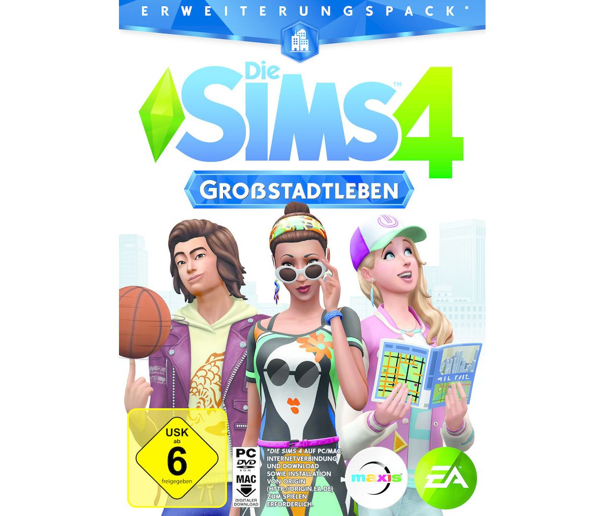 Electronic Arts PC - Spiel »Die Sims 4 - Großst...