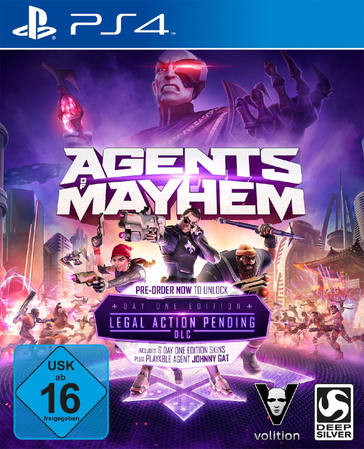 Koch Media Agents of Mayhem Day One Edition »PS4«
