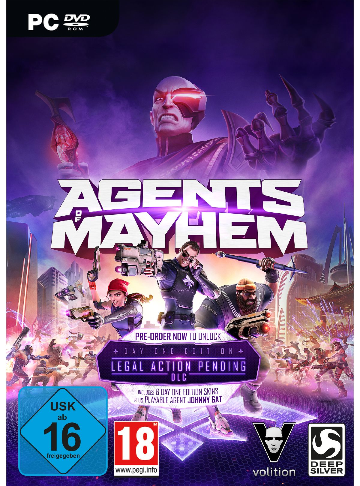 Koch Media Agents of Mayhem Day One Edition »PC«