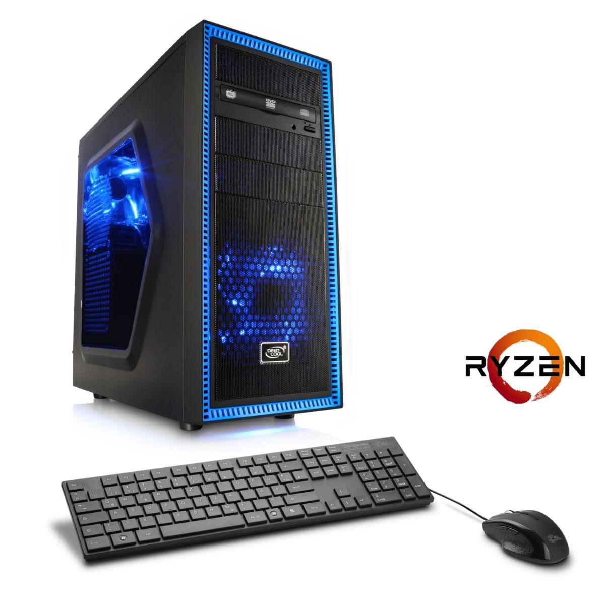 CSL Gaming PC | Ryzen 5 1600 | AMD RX 580 | 16 ...