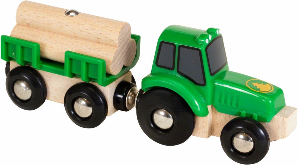 BRIO® Spielzeugtraktor, »BRIO® WORLD Traktor mi...