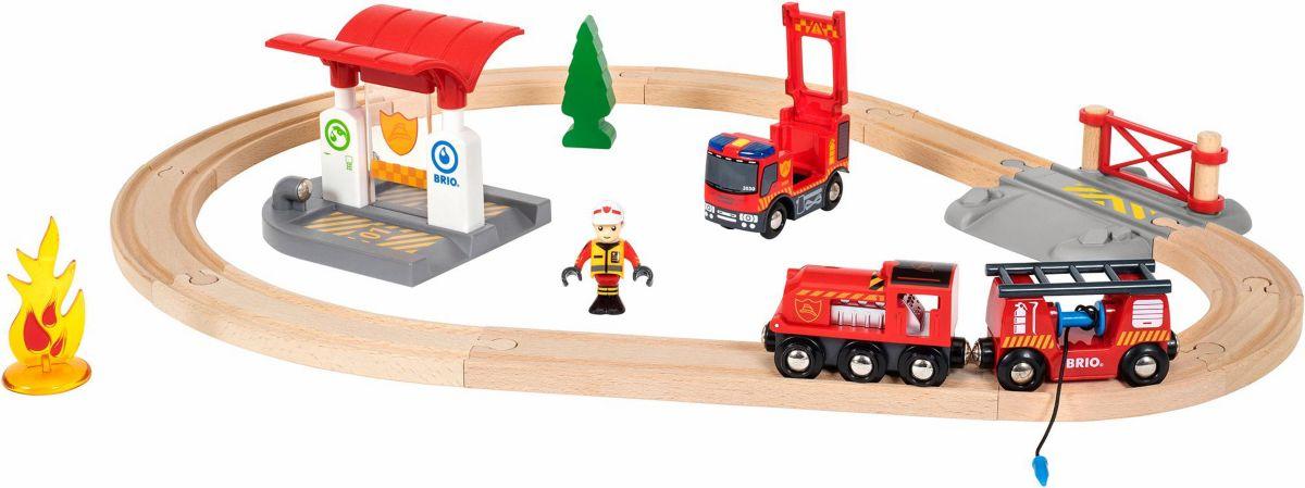 BRIO® Spielzeugeisenbahn mit Licht und Soundfun...