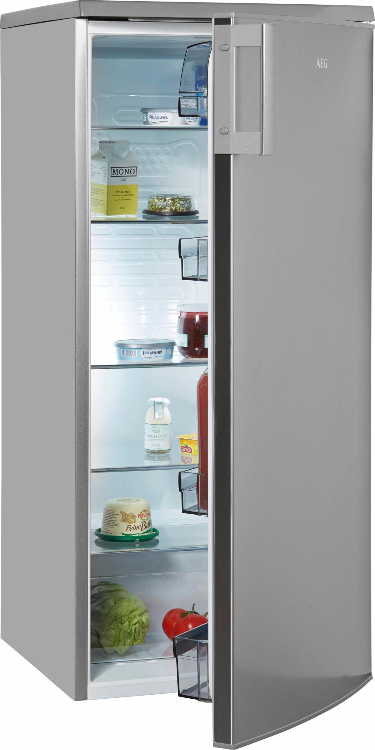 AEG Kühlschrank RKB52512AX, A+, 125 cm hoch