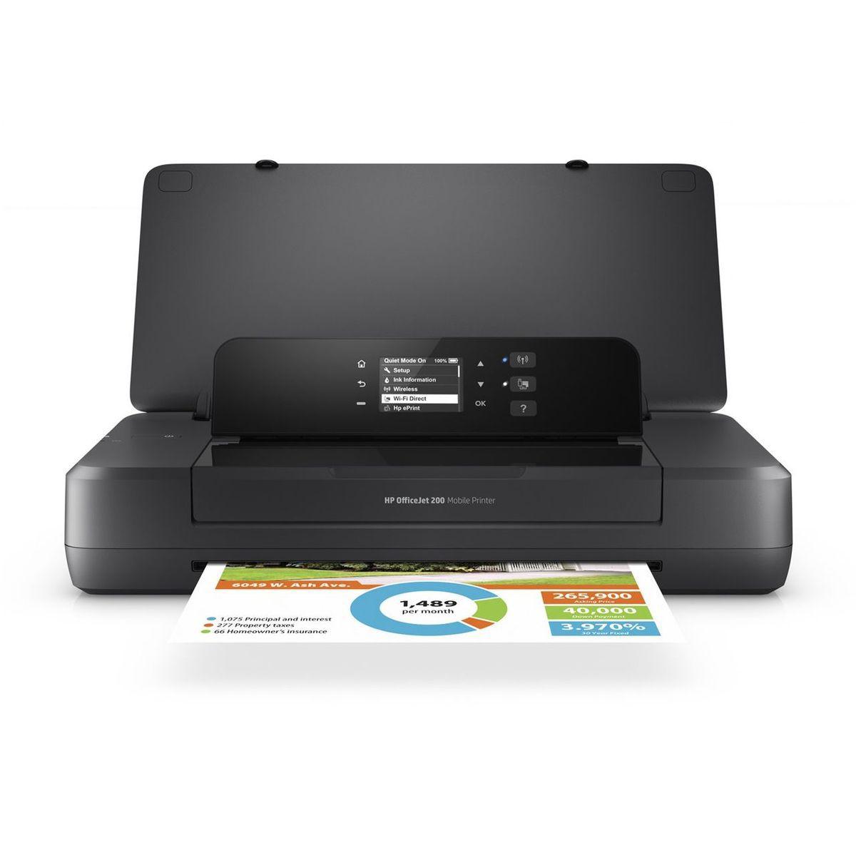 Vorschaubild von HEWLETT-PACKARD Mobiler Drucker »Officejet 200 mobiler Drucker«