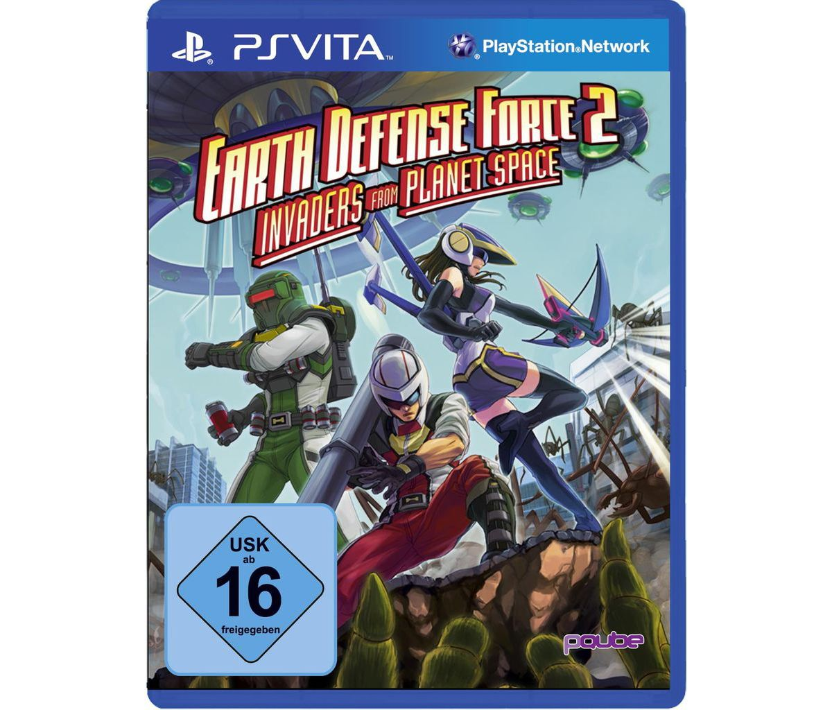PQube Playstation Vita - Spiel »Earth Defense F...