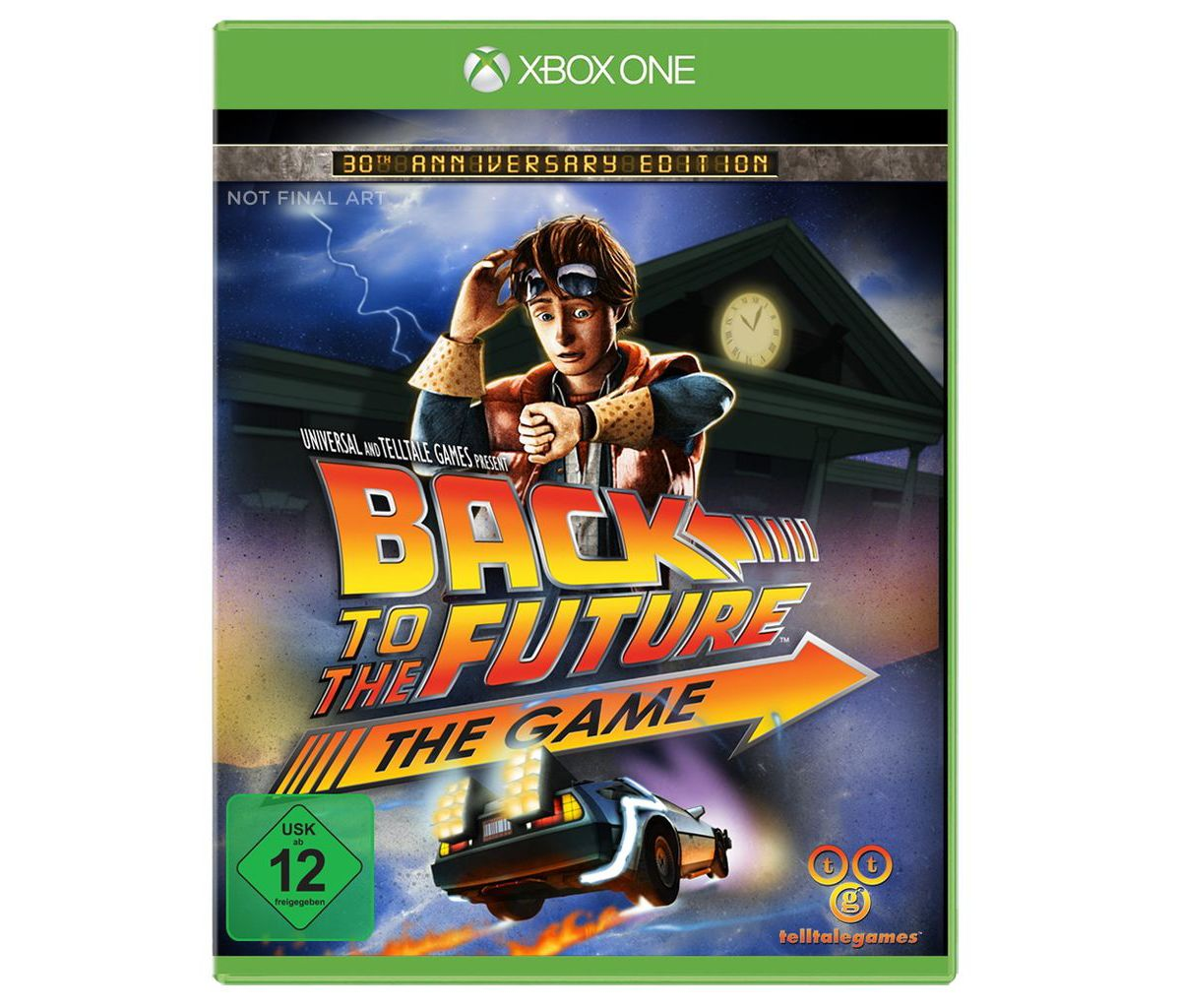 Telltale Games XBOX One - Spiel »Back to the Fu...