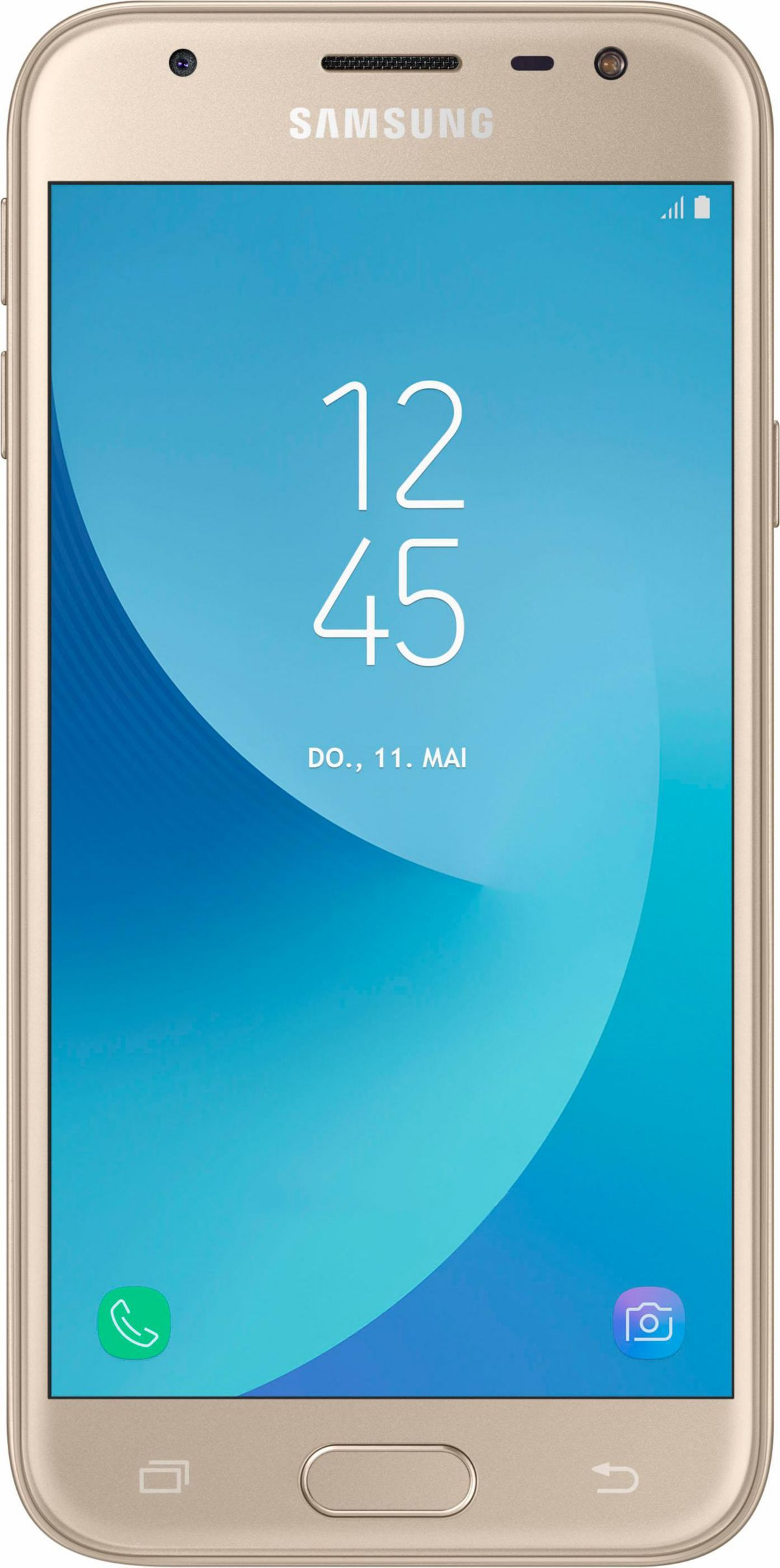 Samsung Galaxy J3 2017 DUOS Smartphone 12 7 cm 5 Zoll Display LTE 4G Android 7 0
