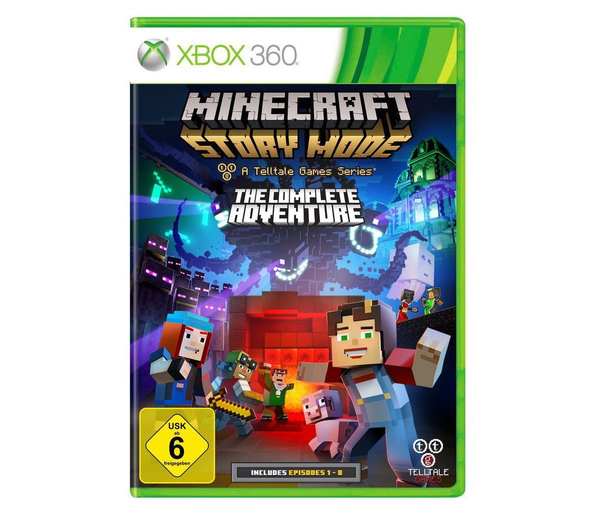 Telltale Games XBOX 360 - Spiel »Minecraft Stor...